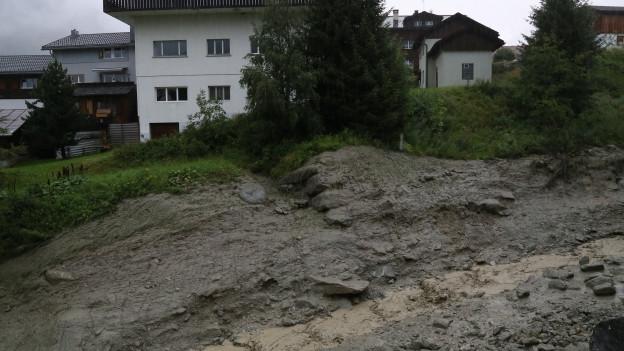 Ausgeschwemmter Bach