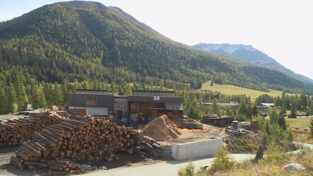 Wurde in S-chanf illegal Holz verkauft?