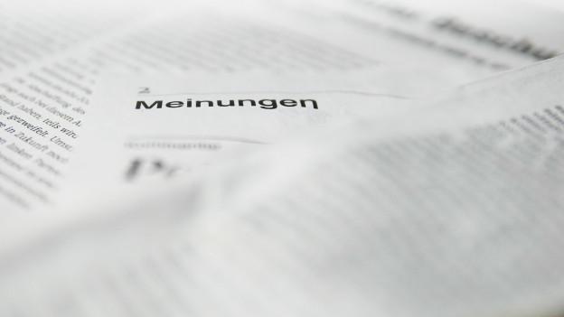 Umstrittener Kommentar - BT-Chefredaktor nimmt Stellung