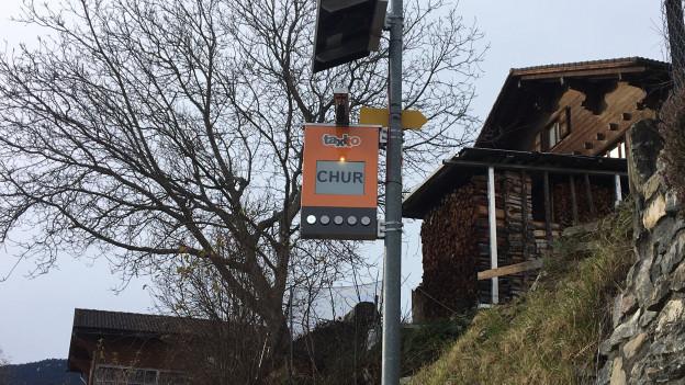 Taxito neu auch in Graubünden.