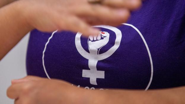Frauen trafen sich zum Sitzstreik in Chur