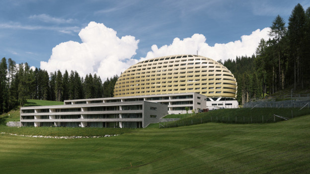 Das Hotel Intercontinental in Davos