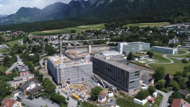 Dank dem Neubau hatte das Spital Chur genügend Platz