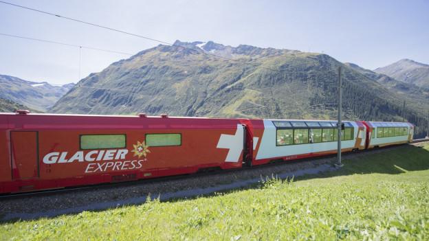 Zug des Glacier Express