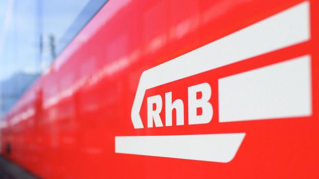 Logo der RhB