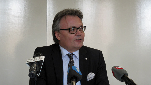 Stadtpräsident und Finanzdirektor Stefan Roth freut sich über das deutliche Abstimmungsergebnis.