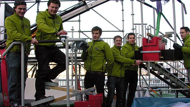 Studenten der Hochschule Luzern haben die JRZ-Wasserpumpe konstruiert.