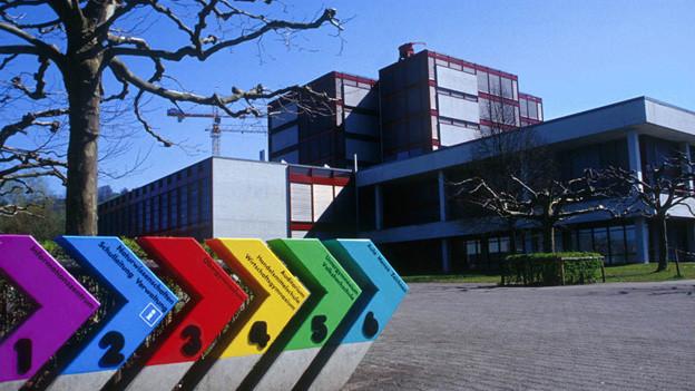 Die Kantonsschule Zug platzt aus allen Nähten - ein Neubau in Cham soll sie entlasten.
