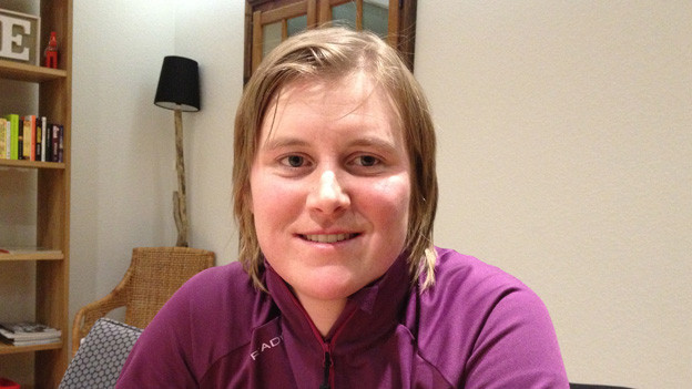 Die Urner Bergsteigerin Andrea Lorenz.