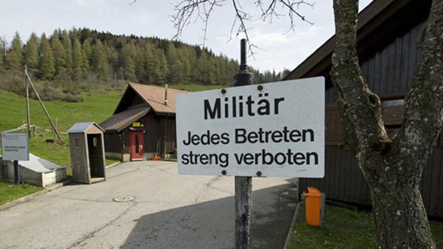 In der Militärunterkunft in Alpnach soll ein Asylzentrum entstehen - im Bild die Unterkunft im Eigenthal