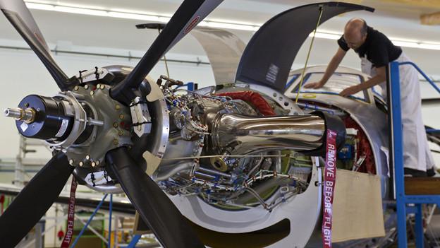 Die Pilatus Flugzeugwerke wollen nach China expandieren.