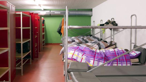 Straffällige Asylbewerber sollen ihre Unterkunft räumen müssen.