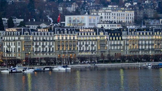 Die neue Tourismuszone soll die Luzerner Traditionshotels schützen.