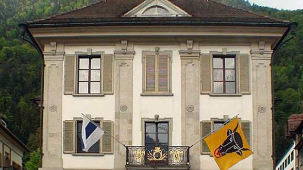 Der Urner Landrat debattiert und entscheidet im Rathaus in Altdorf.