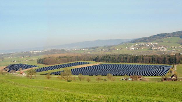 Die Photovoltaik-Anlage der CKW in Inwil ist definitiv Geschichte