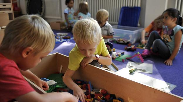 In Luzern beginnt für 114 Kinder nach den Ferien der Kindergarten