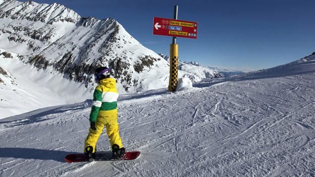 Im nationalen Wintersportzentrum sollen Jugendliche für den Wintersport begeistert werden.
