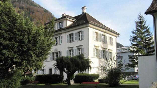 Das Haus «Winterberg» samt Parkanlage soll verkauft werden