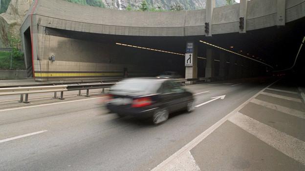 Bundesrat will eine zweite Röhre durch den Gotthard.