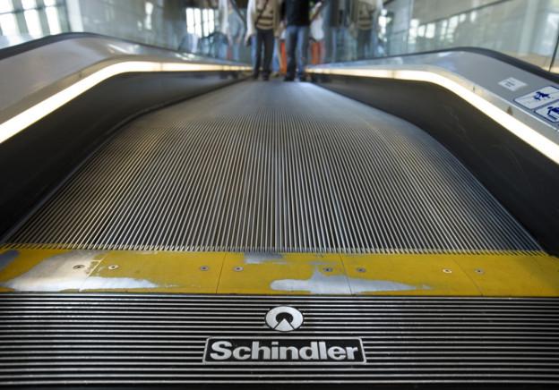 Schindler machte im letzten Jahr massiv mehr Umsatz.