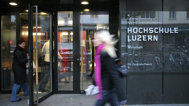 Die Hochschule Luzern will die Informatik-Ausbildung ausbauen.