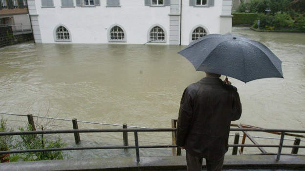 Der Stollen soll die Hochwasser-Gefahr vermindern.