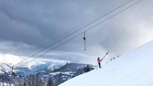 Mit Skifahren auf der Rigi ist es bald vorbei.