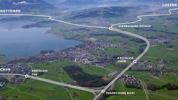 Der Ausbau der A4 bringt im Kanton Zug vorübergehend flüssigeren Verkehr