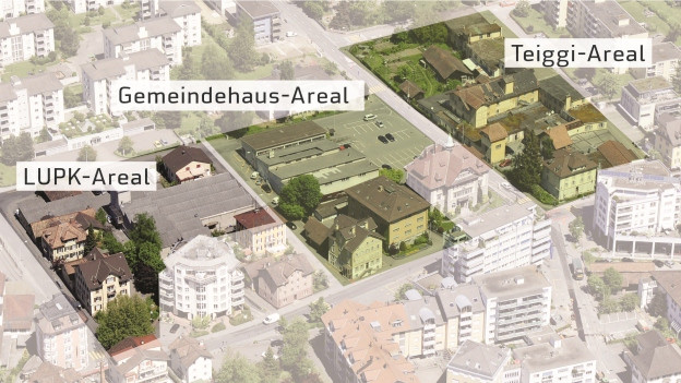 Das Krienser Zentrum soll für 130 Millionen Franken umgebaut werden.