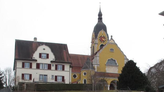 Die Kirche der Pfarrei Gerliswil in Emmenbrücke.