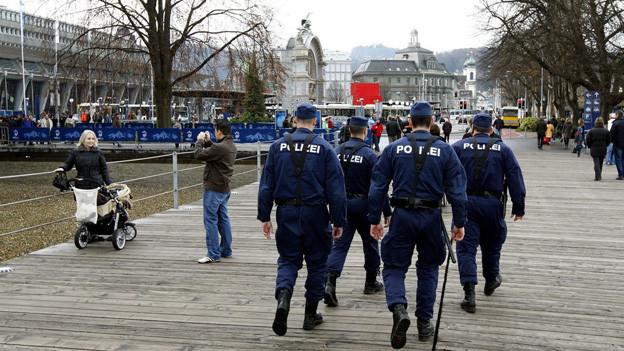 Die verstärkten Patrouillen der Luzerner Polizei zeigen Wirkung