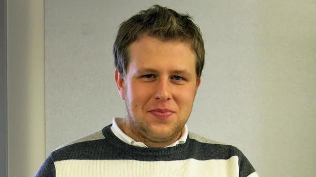 Der 20-jährige Silvan Zemp vom Jugendrat Escholzmatt engagiert sich für die Arbeit der Jugendparlamente.