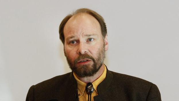 Jagdinspektor Reinhard Schnidrig versteht die Bedenken der Bevölkerung.