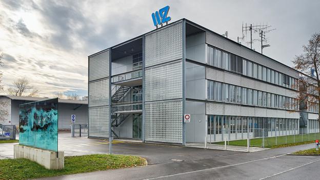 Die Wasserwerke Zug (im Bild der Hauptsitz) sind mit dem Geschäftsjahr 2012 zufrieden.