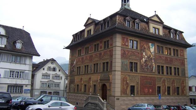 Der Wirtschaftsprozess findet wegen der Grösse im Kantonsratssaal des Rathauses statt.
