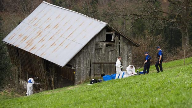 Die Leiche der jungen Frau wurde der Nähe des Wohnortes der Eltern gefunden.