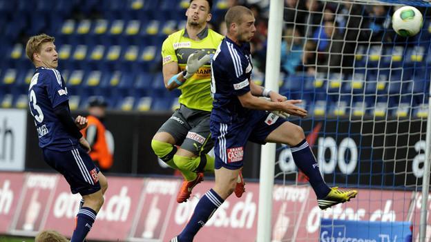 FC Luzern spielt gegen GC unentschieden.