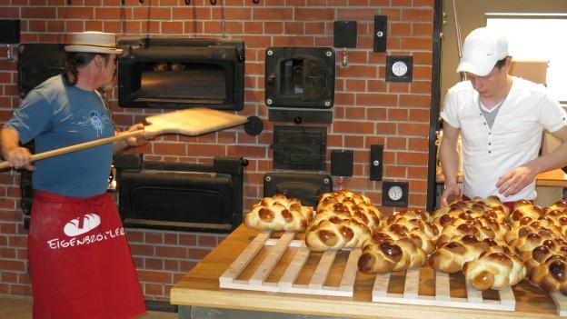 Der Schaubauernhof Agrovision verfügt auch über eine Holzofenbäckerei.