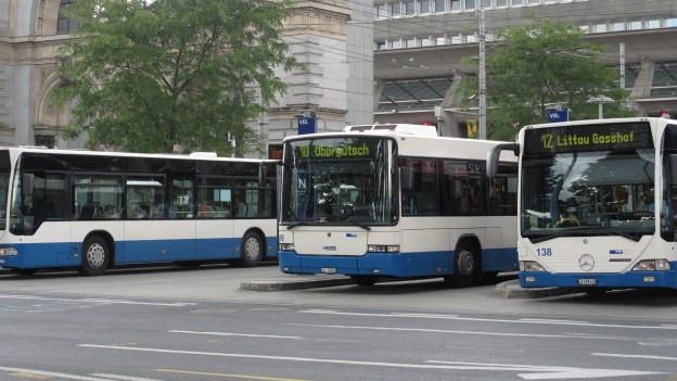 Die Busse der vbl transportierten 2012 soviele Passagiere wie noch nie.