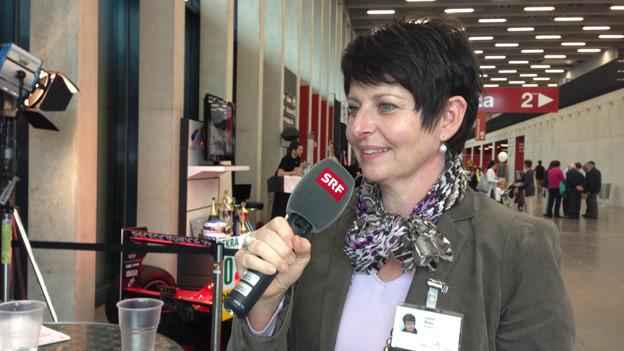 Luga-Messeleiterin Luzia Roos zieht eine positive Bilanz