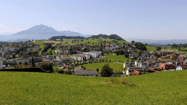 Opposition gegen Ortsplanung von Adligenswil.