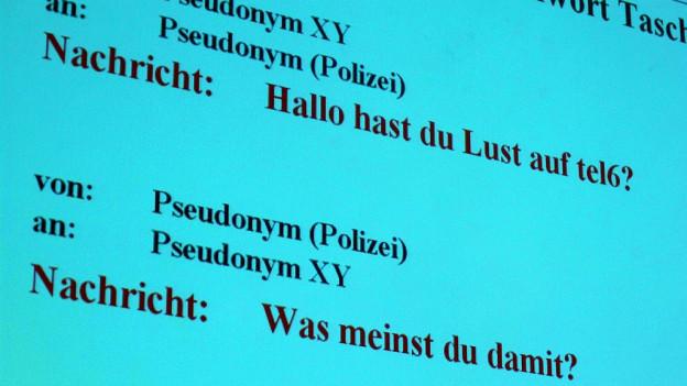 Die Polizei darf künftig sich mit falschen Identitäten in Chats bewegen.