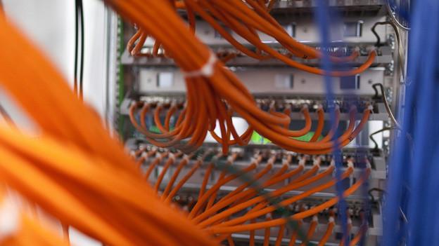 Rapidshare speichert für Kunden grosse Datenmengen.