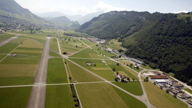 Nidwaldner Parlament diskutiert nicht über Flugplatz.