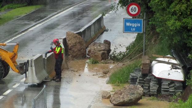Auch in Weggis haben laut Gemeinde die Verbauungen Wirkung gezeigt