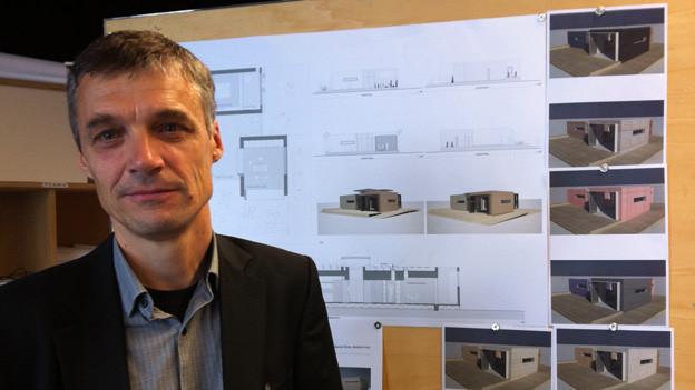 Hanspeter Bürgi sucht mit seinen Studierenden das Haus der Zukunft