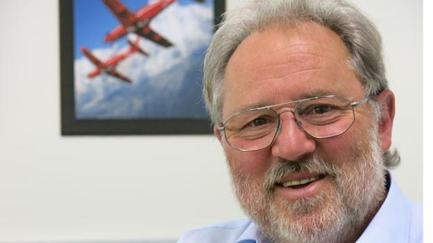 Der langjährige Firmenchef der Pilatus Flugzeugwerke, Oskar Schwenk.