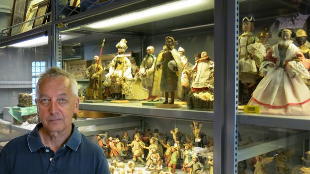 Am letzten Arbeitstag: Heinz Horat im historischen Museum Luzern.