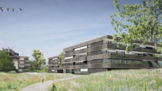 Das Konzept für den Ausbau von Rathausen steht.