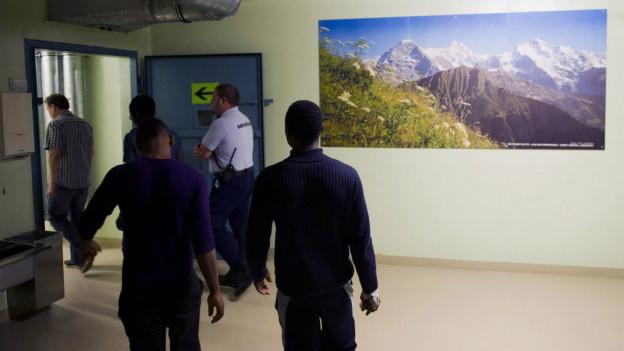 Asylsuchende werden im Gubel in Menzingen einziehen.